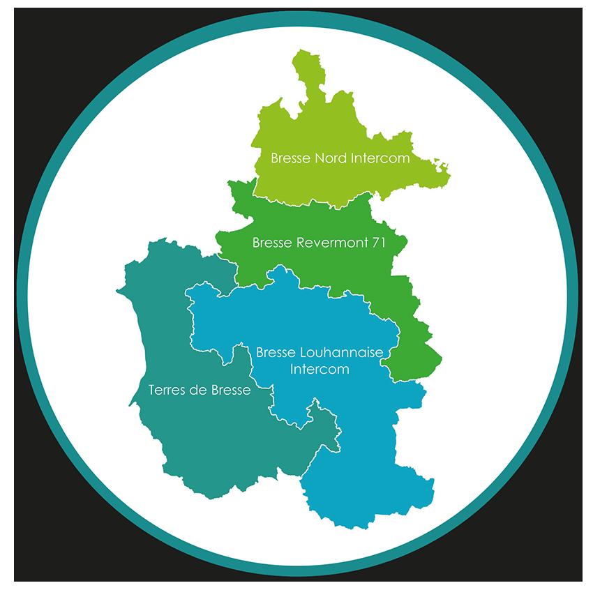 4 communautés de communes