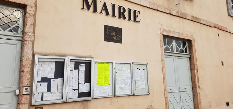 Affichage SCoT en mairie de Louhans