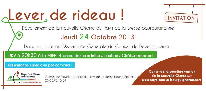 Invitation charte