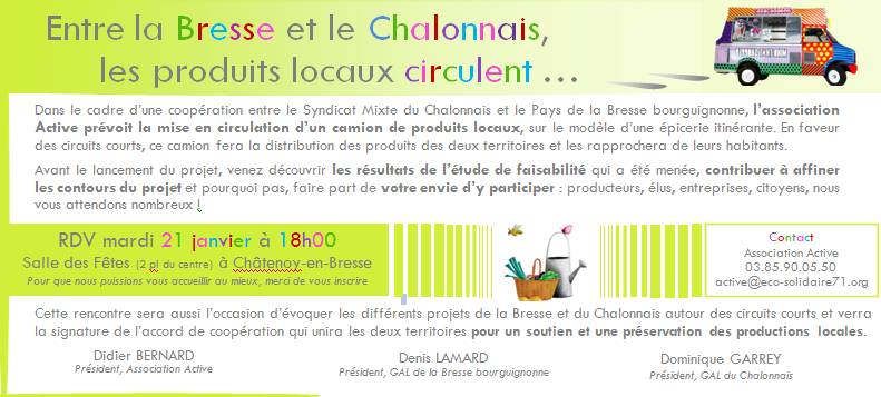 Invitation Mangez local !