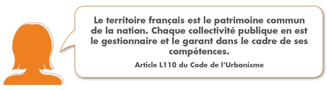 Le territoire français est le patrimoine commun de la nation